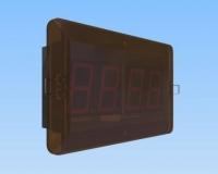 Reloj de panel para empotrar